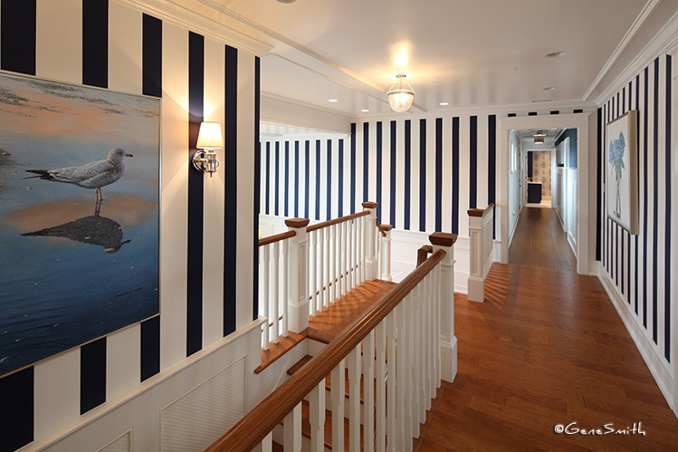 seagull painting-hardwood floor-seashore mansion-bayfront realestate
