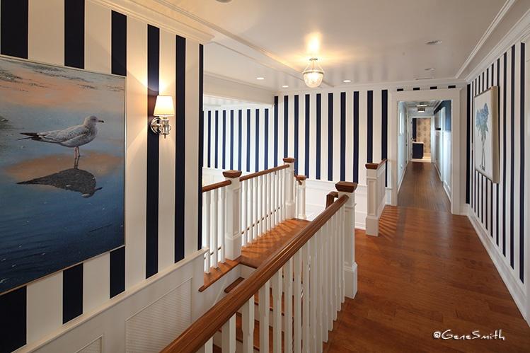 skylit residence hallway