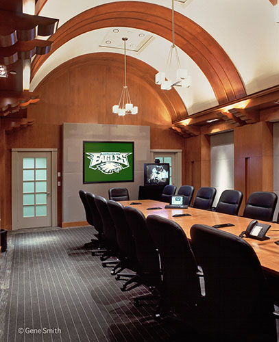Philadelphia Eagles conference room