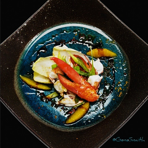 Lobster stew dinner