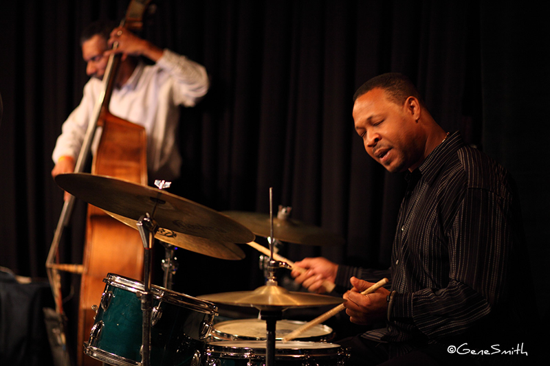 Drummer Byron Landon at Philly- azz-Co-op