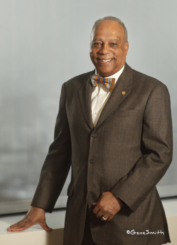 Magazine cover portrait of Bar Association Chancellor