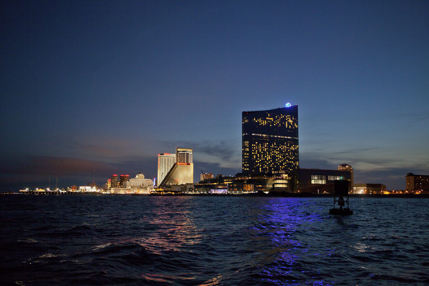 Atlantic City's multi billion dollar White Elephant REVEL Casino now rots empty.