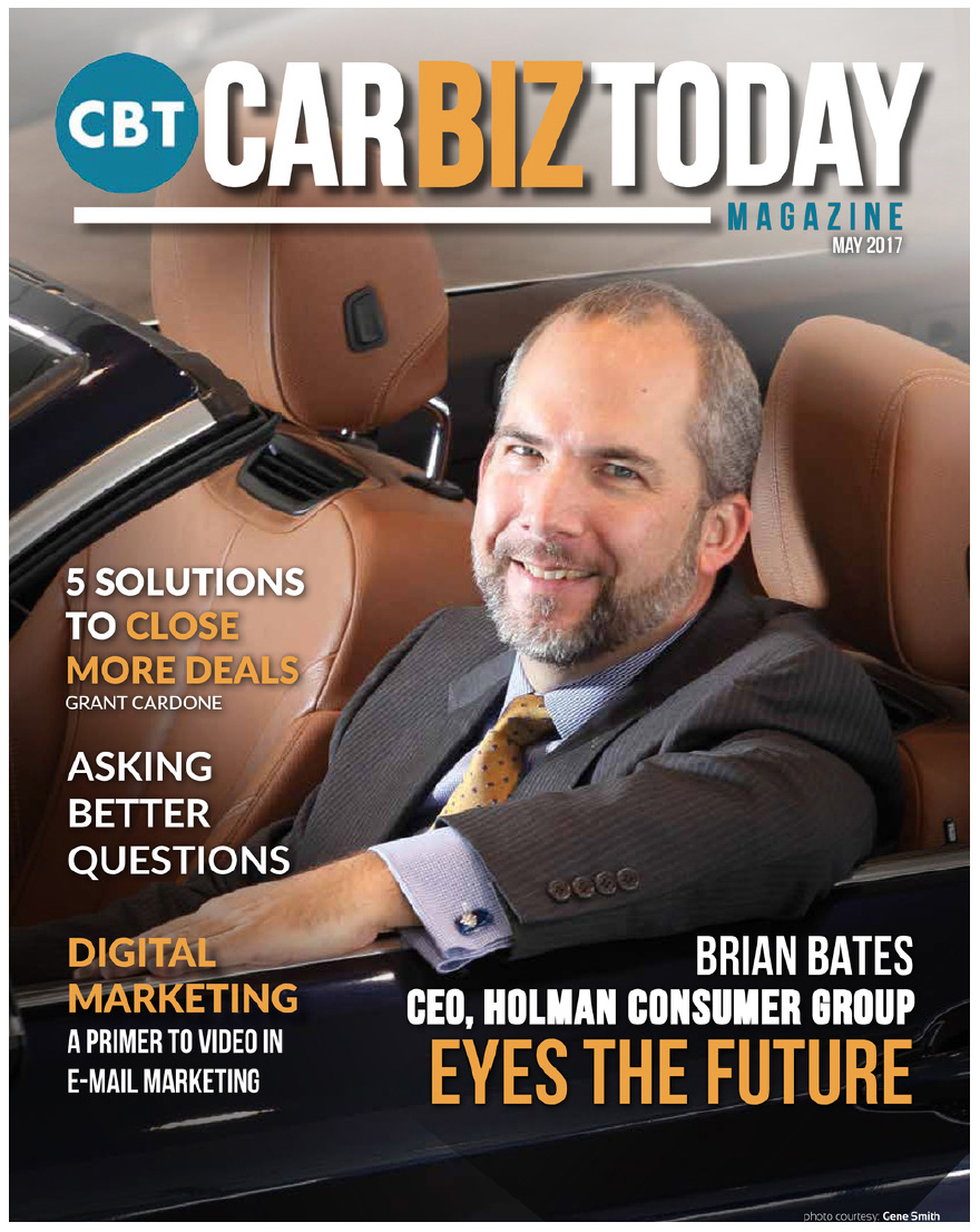 May 2017 Car Biz Magazine Cover